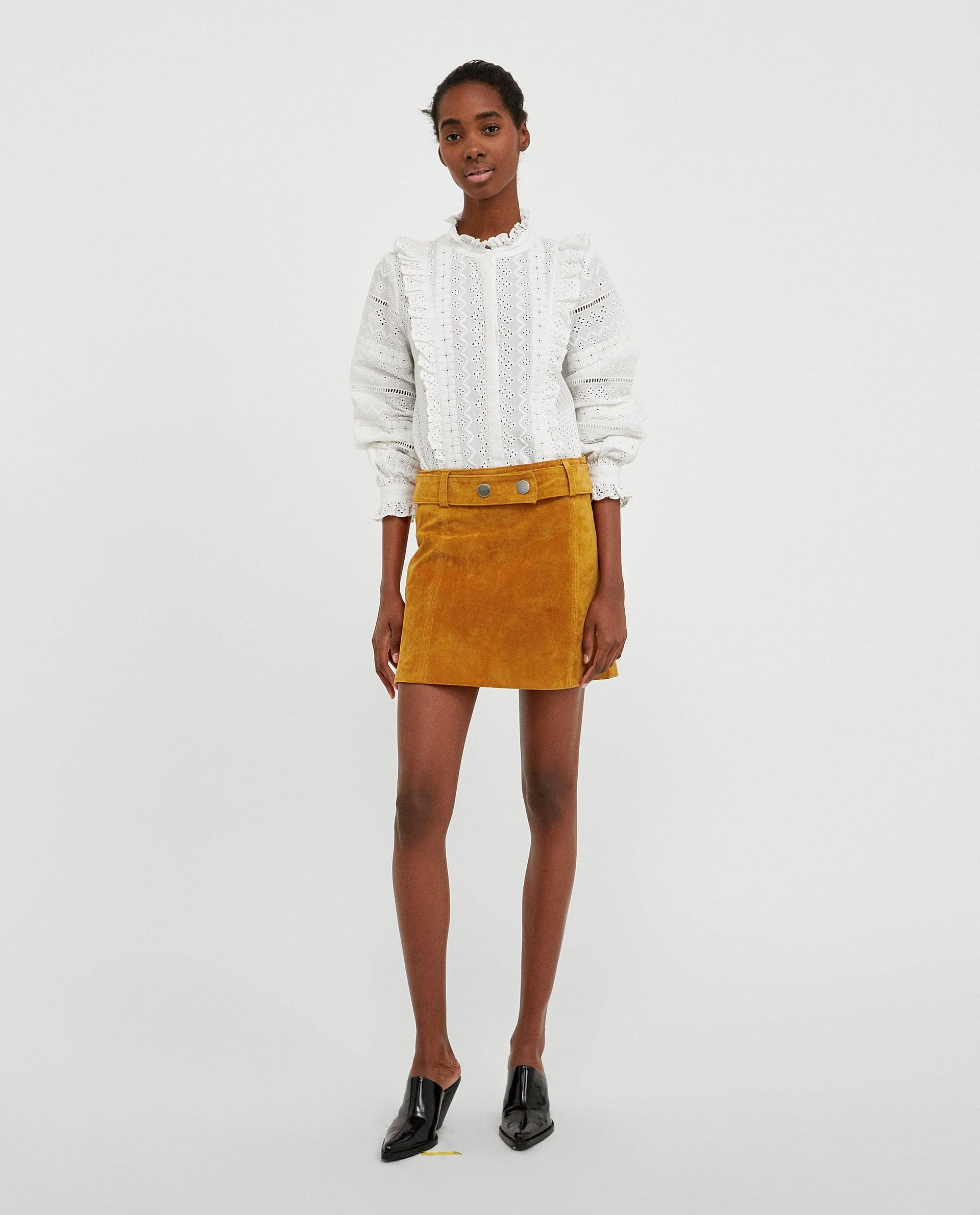 Get this ZARA Mini Skirt for only $19,99