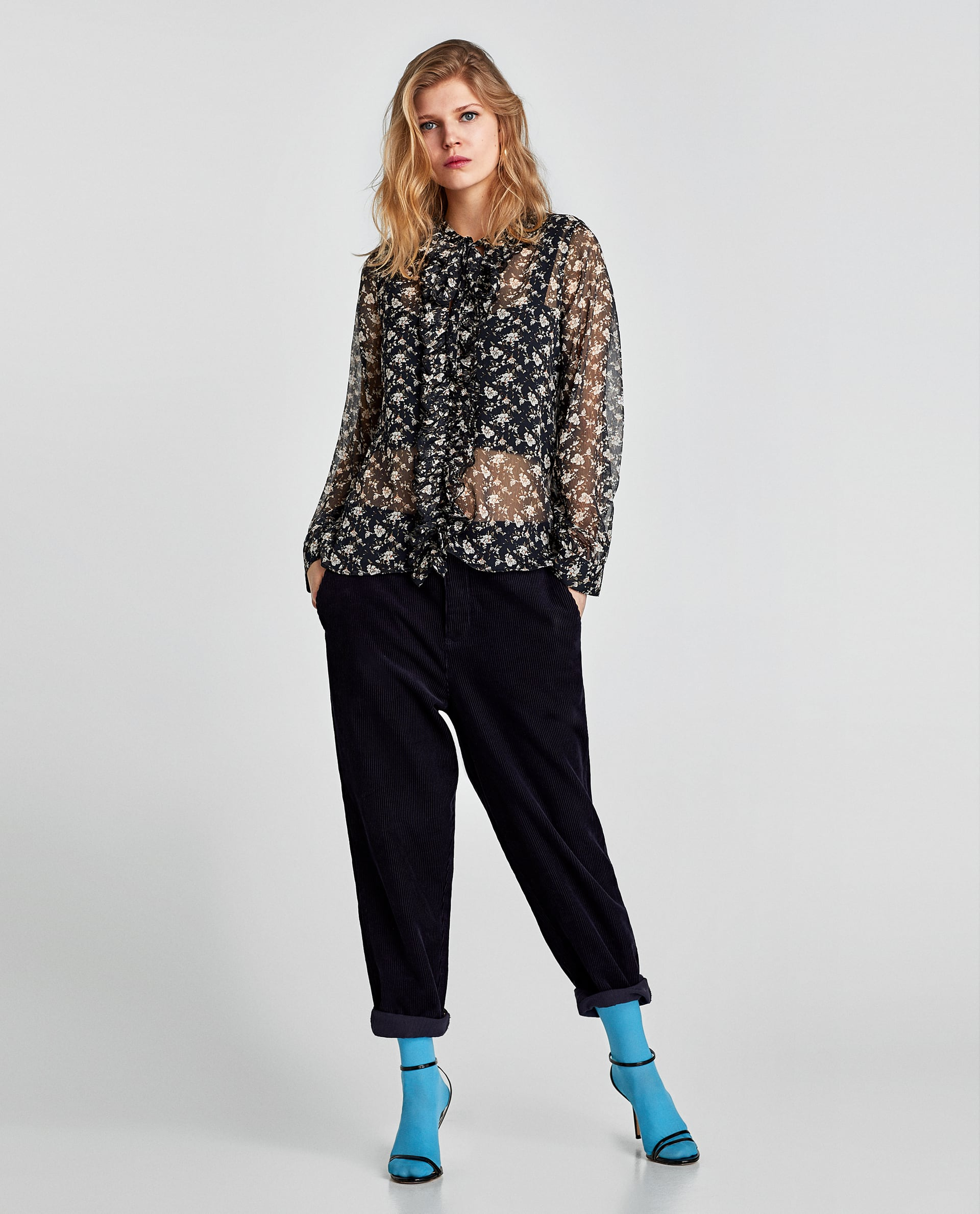 Shop this ZARA Floral Shirt for only $12,99